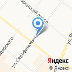 Рихтер-Декор на карте Архангельска