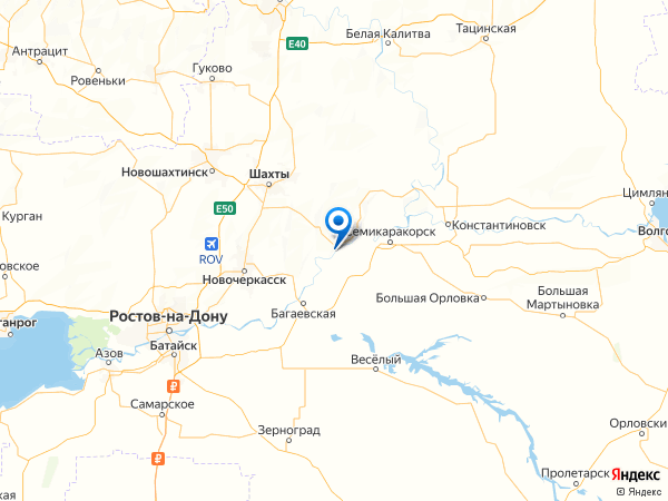 СНТ Горняк на карте