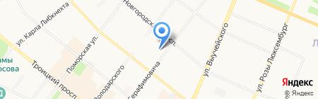 Резиденция на карте Архангельска