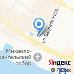 Трансагентство-плюс на карте Архангельска