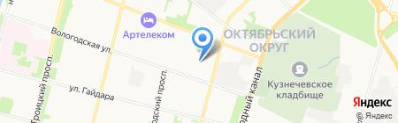 БМТ на карте Архангельска