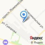 Управление уголовного розыска на карте Архангельска