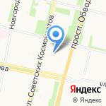 Ростфинанс на карте Архангельска