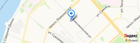 ВинтМастер на карте Архангельска
