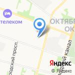 Беломортранс на карте Архангельска