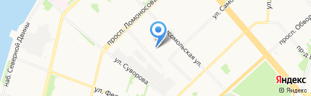 Шиномонтаж29 на карте Архангельска