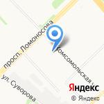 Техно-Безопасность на карте Архангельска