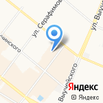 Поморская ярмарка на карте Архангельска