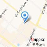 Ti Amo на карте Архангельска