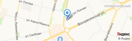 Букет плюс на карте Архангельска