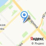 СК-Столица на карте Архангельска