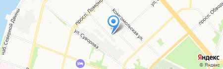 Фотосалон на карте Архангельска