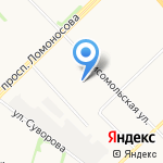 Государственная жилищная инспекция Архангельской области на карте Архангельска