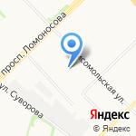 Архангельскавтодор на карте Архангельска