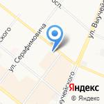 Магазин дверей на карте Архангельска