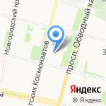 Архком на карте Архангельска