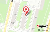 Схема проезда до компании Тис в Архангельске