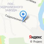 Венера на карте Архангельска