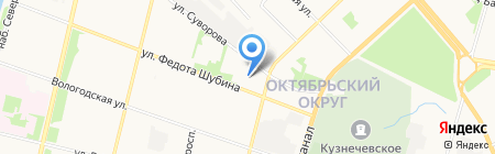 Федерация Кёкусинкай Каратэ на карте Архангельска