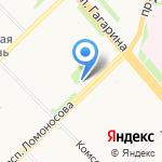 Самоцветы на карте Архангельска
