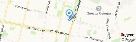 Семейный на карте Архангельска