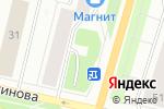 Схема проезда до компании Магазин текстиля и одежды в Архангельске