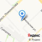Как Дома на карте Архангельска