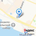 Горящие Туры на карте Архангельска