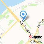 Владимир на карте Архангельска
