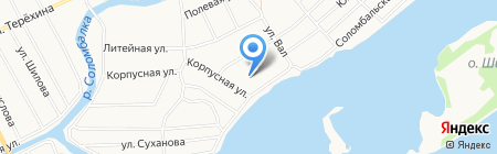 Догги на карте Архангельска