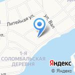 Кошкин Домик на карте Архангельска