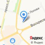 Елизавета на карте Архангельска