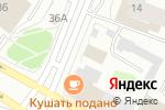 Схема проезда до компании Финанс 29 в Архангельске