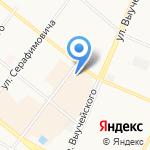 Документ-Центр на карте Архангельска