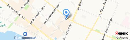 Бюро Веритас Сертификейшн Русь на карте Архангельска