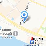 Финанс 29 на карте Архангельска