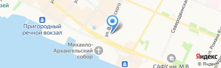 Fon на карте Архангельска