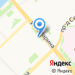Ресто на карте Архангельска