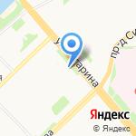 Селена на карте Архангельска