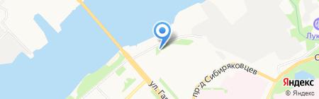 Поликлиника на карте Архангельска