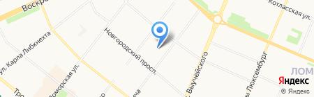 Электростроймаркет на карте Архангельска