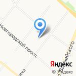 Высота на карте Архангельска