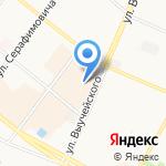 Хороший клёв на карте Архангельска