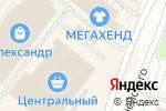 Схема проезда до компании Киоск по продаже овощей и фруктов в Архангельске