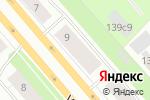 Схема проезда до компании Восточная сказка в Архангельске
