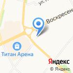 Северный дом на карте Архангельска