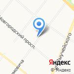Открытие на карте Архангельска