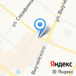 Лидер на карте Архангельска
