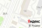 Схема проезда до компании Мега Мир в Архангельске