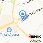 Северные Продукты на карте Архангельска